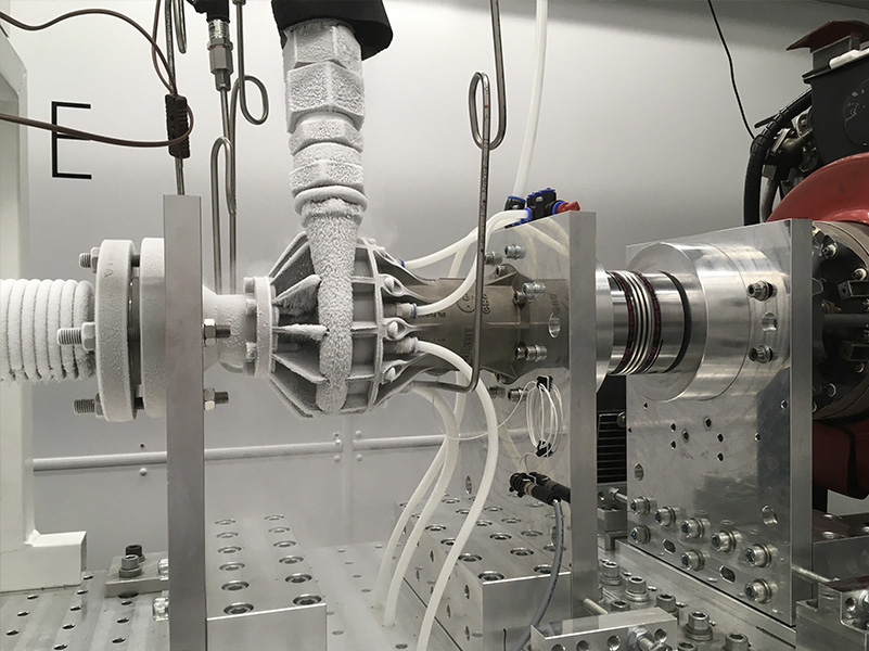 Cryogenic pump testing LENA Space