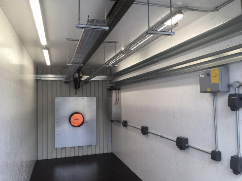LENA Space manufacture of test cell
